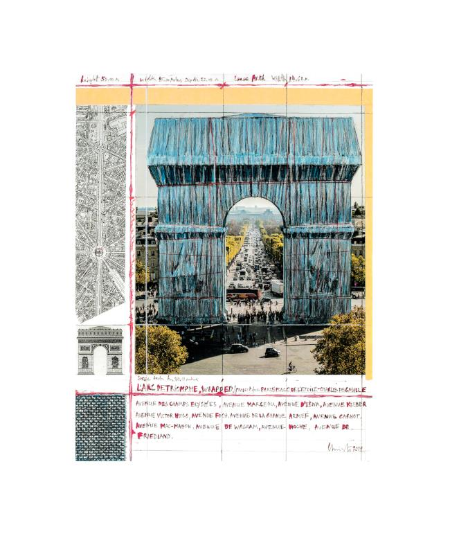 Arc de Triomphe III - Project for Paris - Christo - k-2110CHR1