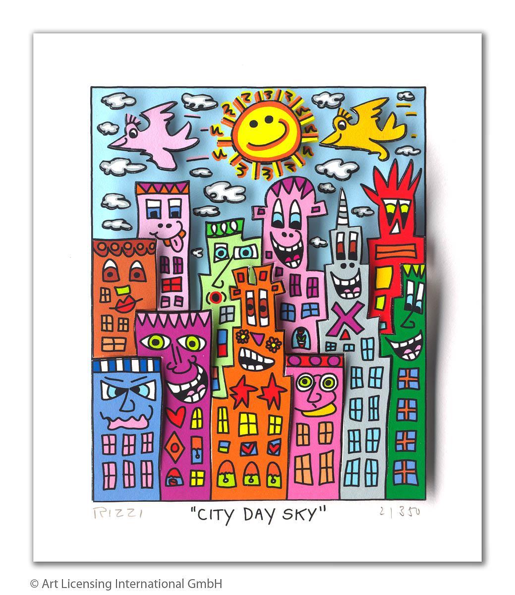 City day sky - Rizzi, James - k-2110RIZ3