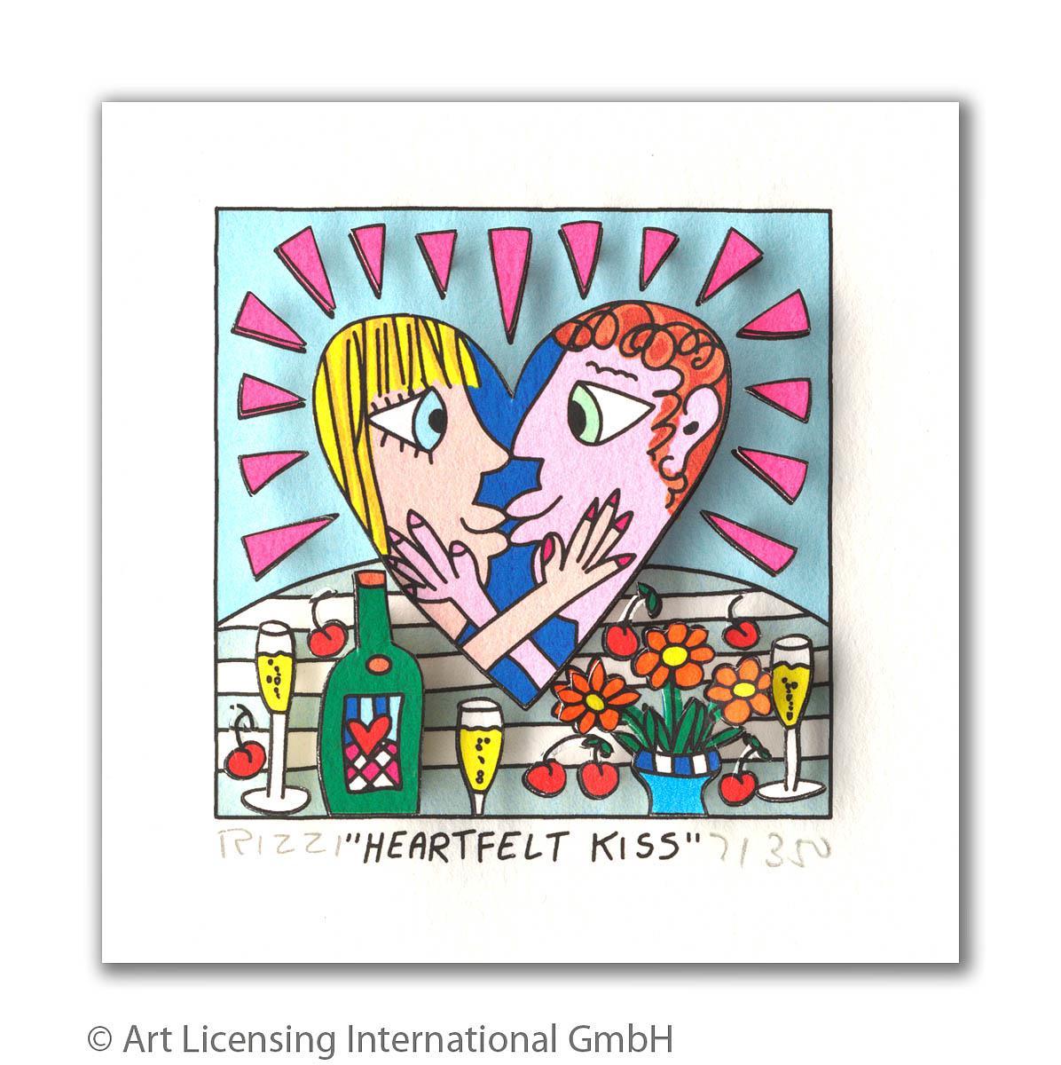 Heartfelt kiss - Rizzi, James - k-2110RIZ4